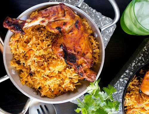 Chicken Kabsa – Saudi