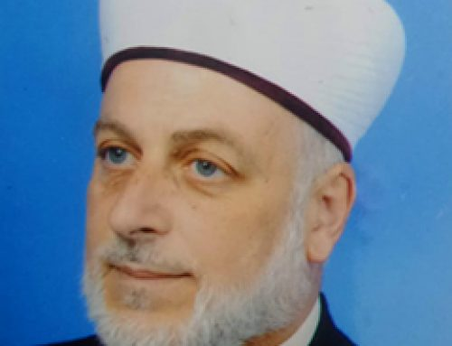 Sheikh Mazen Ahram, Imam and Mraqib of all Mosques in Jerusalem